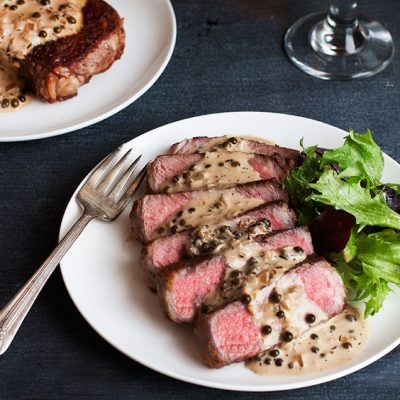 Steak au Poivre