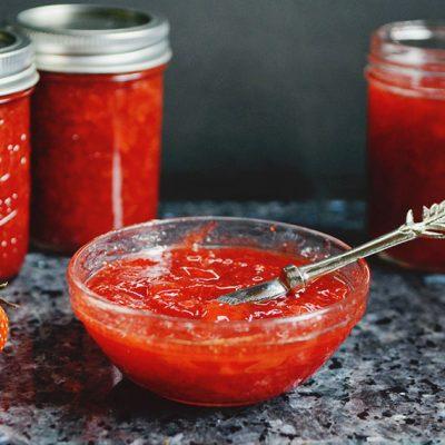 Strawberry Vinegar Jam