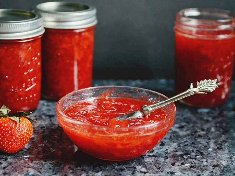 Strawberry Vinegar Jam