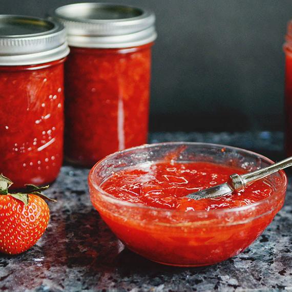 Strawberry-Vinegar Jam
