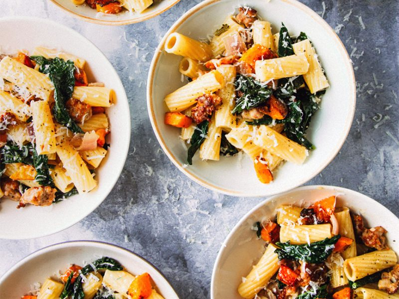 Super Tuscan-Rigatoni with winter squash|Rigatoni with Winter Squash