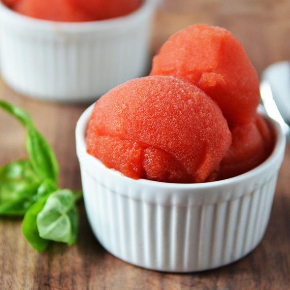 Tomato Sorbet