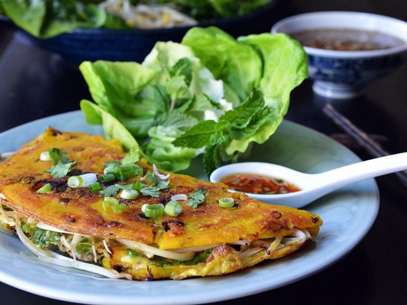 Vietnamese Oyster Pancake
