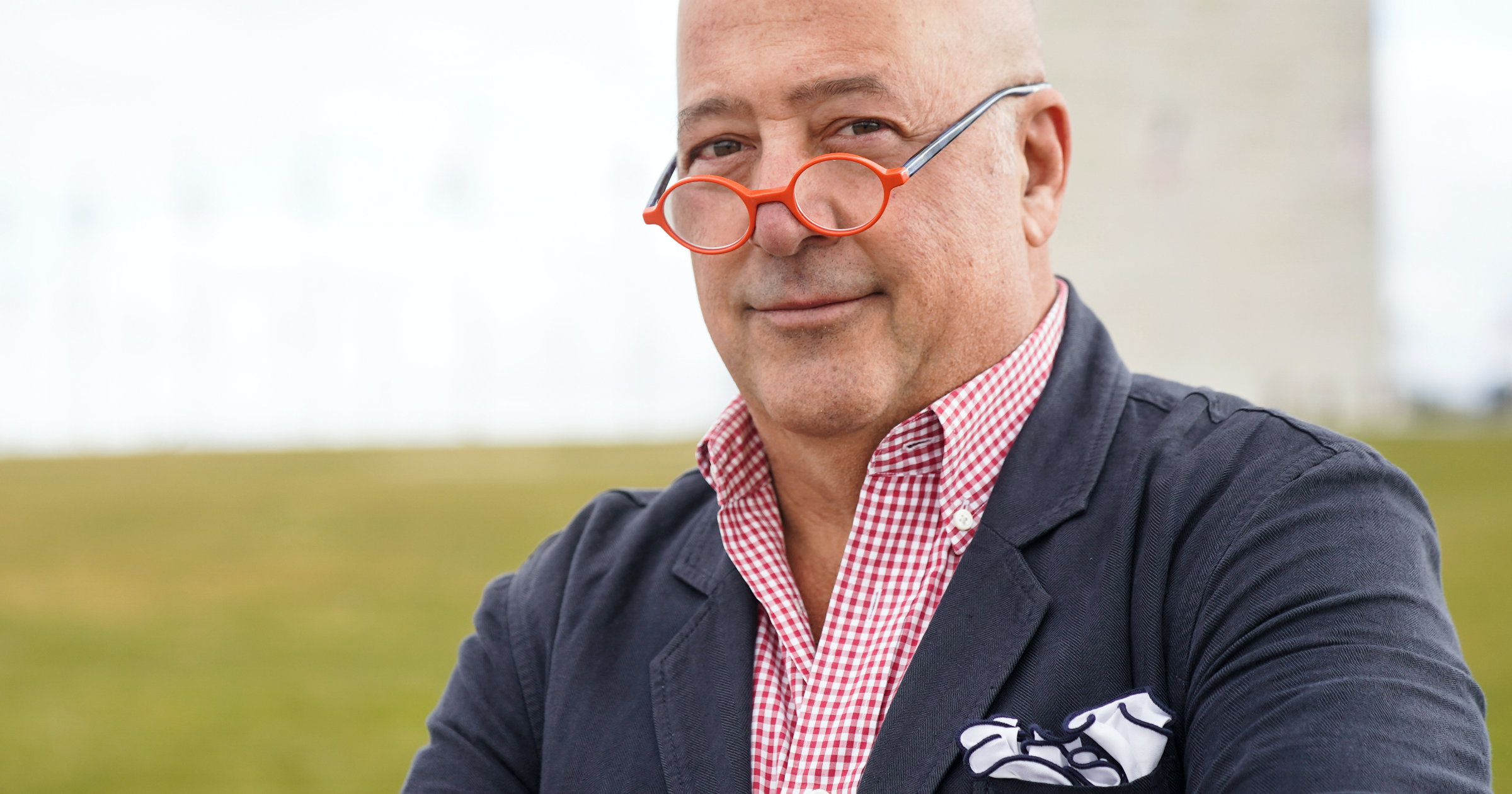CHEF ANDREW ZIMMERN  - cover