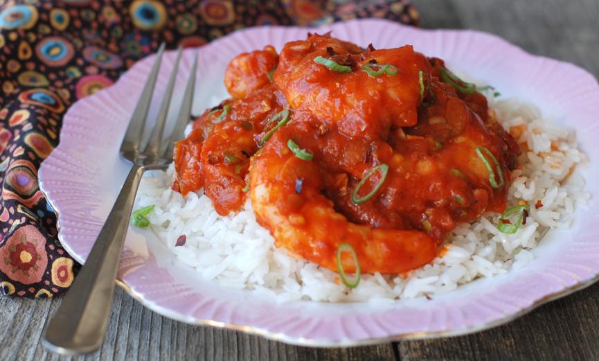 Shrimp Etouffe
