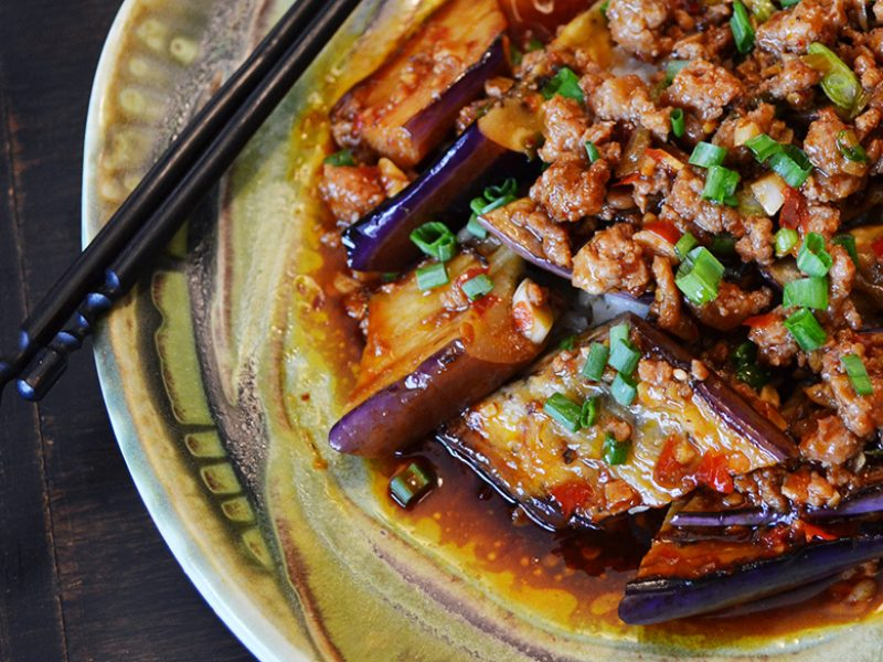 Ma Po Eggplant