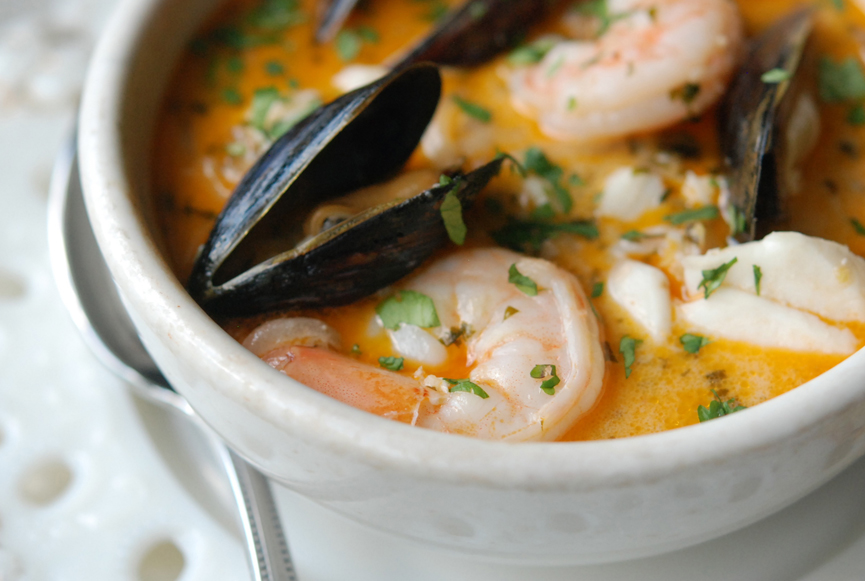 Brazilian Fish, Shrimp & Mussel Stew