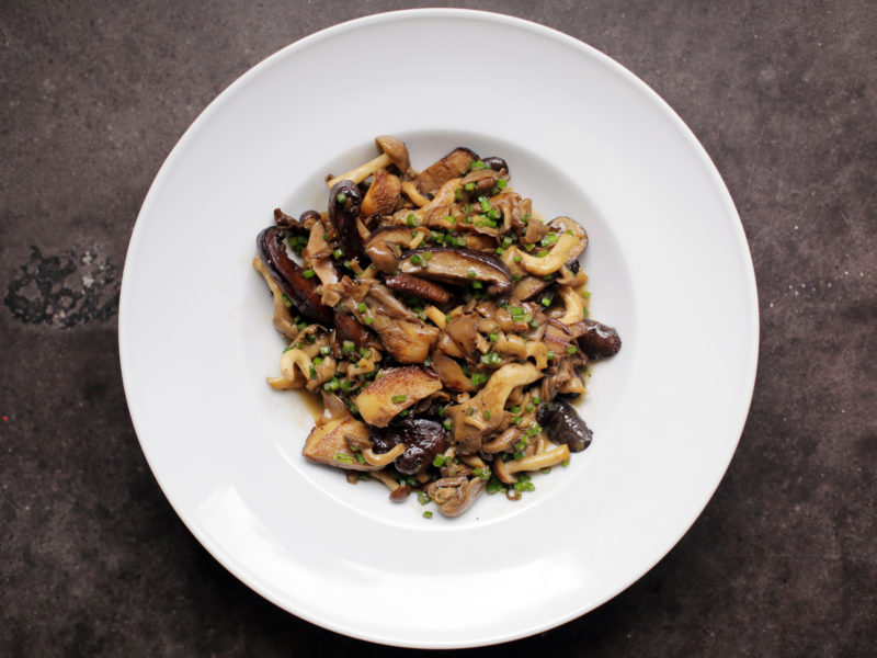Soy Butter Mushrooms